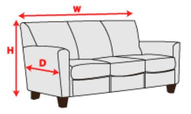 mesurer canape