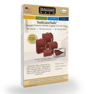 housse anti punaise de lit bagage Mattress safe